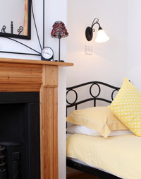 Holiday Cottage bed